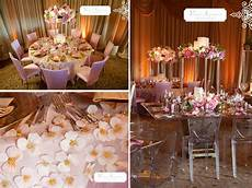 luxe pink cream and gold wedding reception tablescapes