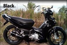 Jupiter Z1 Modifikasi by Modifikasi Jupiter Z1 Warna Hitam Galeri Gambar Foto