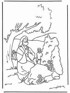 Ausmalbilder Ostern Bibel Ausmalbilder Ostern Jesus Betet Im Garten 01