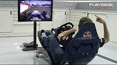 Sebastian Vettel Testing The New Formula 1 Driving