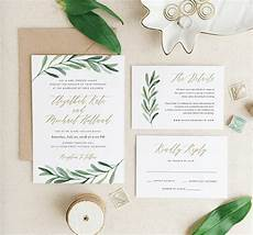 wedding invitation ideas wedding invitation tips and 10 greenery wedding invitation