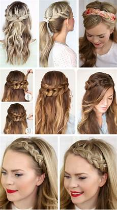 party hairstyles for hair using step by step easy