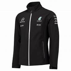 official mercedes amg petronas f1 softshell jacket 2017