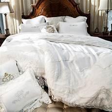 copriletti cotone 800tc biancheria di pizzo bianco palazzo di lusso da sposa