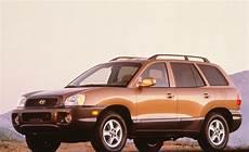 fe auto 2001 hyundai santa fe road test review car and driver