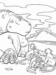 n 18 kleurplaten dinosaurus