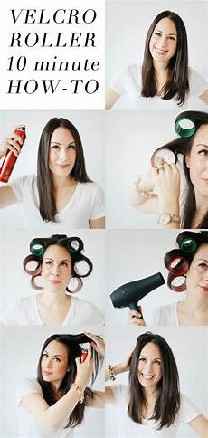 How To Style Hair With Velcro Rollers