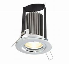 diall fire polished chrome effect led fixed warm