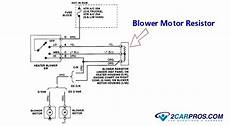 blower motor wiring diagram how to replace a blower fan motor in 30 minutes