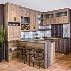 modele de cuisine rustique armoires de cuisine rustique chic en m 233 lamine avec