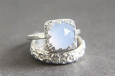 sale vintage style chalcedony wedding ring eco