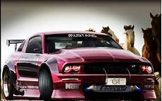 cars tuning ford mustang 3d gt wallpaper 7350