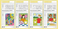 colour worksheets ks2 19238 ks2 children in need colour by calculation maths differentiated worksheets children in