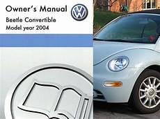 all car manuals free 2004 volkswagen new beetle parental controls 2004 volkswagen beetle convertible owners manual in pdf