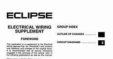 1995 eclipse wiring diagram wiring diagrams and free manual ebooks 1995 mitsubishi eclipse factory service manual