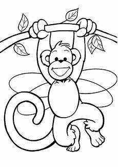 Malvorlagen Zum Ausdrucken Affen Ausmalbilder Affe 04 Ausmalbilder Zum Ausdrucken