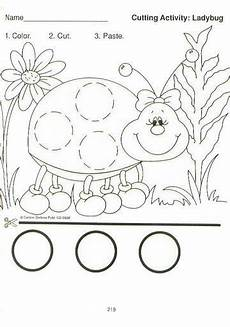 cut and paste motor skills worksheets 20651 pin on prek carson dellosa cutting practice