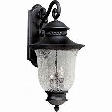 shop 23 in h black outdoor wall light at lowes com