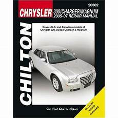 chilton car manuals free download 2008 dodge ram 2500 user handbook chilton repair manual chrysler 300 charger magnum 2005 09 20362 ebay