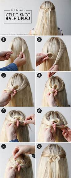 diy celtic knot half updo hair tutorial pictures photos and images for facebook