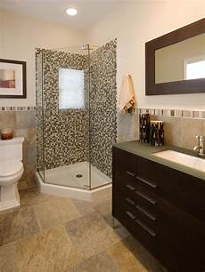 shower ideas for bathrooms bright bathroom with corner shower featuring mosaic tile hgtv