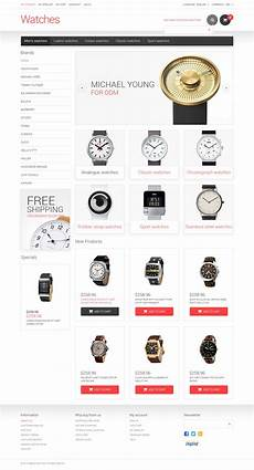 watches magento template watches responsive magento theme 48334