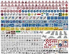 Verkehrszeichen Und Ihre Bedeutung - verkehrszeichen stvo sammlung icon set vektor german