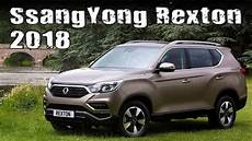 All New 2018 Ssangyong Rexton G4 Uk Specs And Prices