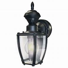 shop secure home 11 in h black motion activated outdoor