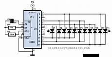 Led Lights Circuit Electroschematics