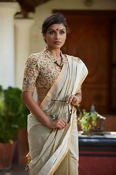 kerala style saree saree designs 30 best kalamkari blouse designs collections 2018