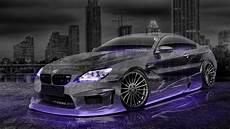 Bmw Sports Car Wallpaper With Purple Background Designs by Bmw M6 Hamann Tuning 3d City Car 2015 Violet Neon