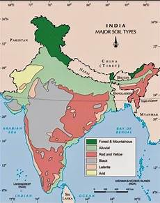 10 different states of india icse solutions for class 10 geography soils in india a