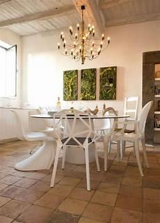 Stühle Modern Esszimmer - designer st 252 hle mit normalen kombinieren k 252 chen tisch