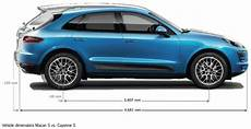 Compare Macan Cayenne In Size Porsche Macan Forums