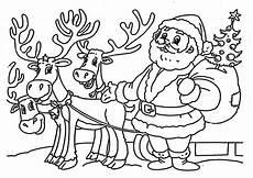 Ausmalbilder Vom Weihnachtsmann Weihnachtsmann Bilder Zum Ausdrucken