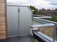 glass balcony with privacy screen in 2019 glass balcony