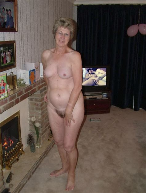 Sweet Granny Nude