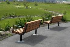 series b benches custom park leisure