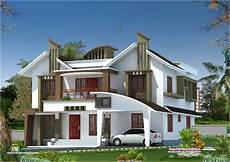 contemporary house plans in kerala modern house elevation from kasaragod kerala home