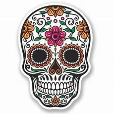 mexico skulls haku skull sticker mexican sugar