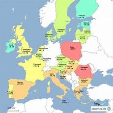 eu länder karte karte der eu creactie