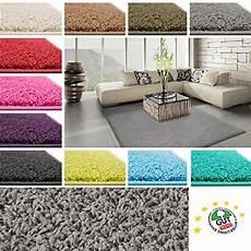 wohnzimmerteppich grau floori shaggy hochflor teppich 100x150cm moderner