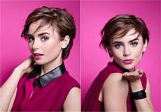 Kurzhaarfrisuren F 252 R Frauen Frech Trendige Haarschnitte