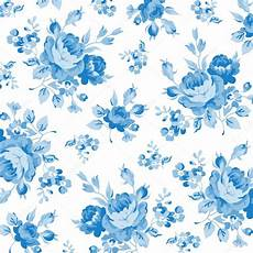 Floral Pattern With Blue Stock Vector 169 Lovelava