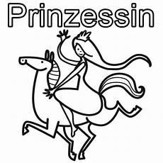Malvorlage Prinzessin Und Pferd Ausmalbild Prinzessin Prinzessin Reitet Auf Einem Tollen