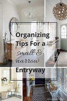 Small Home Entrance Decor Ideas by Home Organizing Ideas Organizing A Narrow Entry Entry