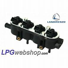 Landi Renzo Lpg 4x Injector Rail Rgi Med Bosch Excl