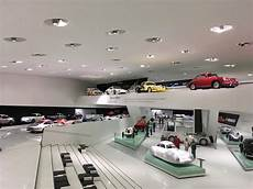 Automotive History At The Porsche Museum In Stuttgart