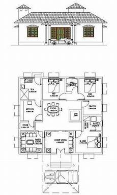 kerala model house plans free 3 bedroom typical kerala home design including prayer room
